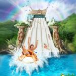 comunicazione: brochure parco divertimenti/ communication: amusement park brochure