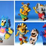 comunicazione: personaggi /communication: characters amusement park