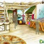 gallerie: rendering negozio